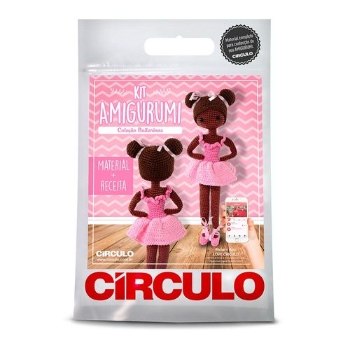 Kit Amigurumi Crochê Círculo S/a - R$ 30,69 em Mercado Livre | 500x500